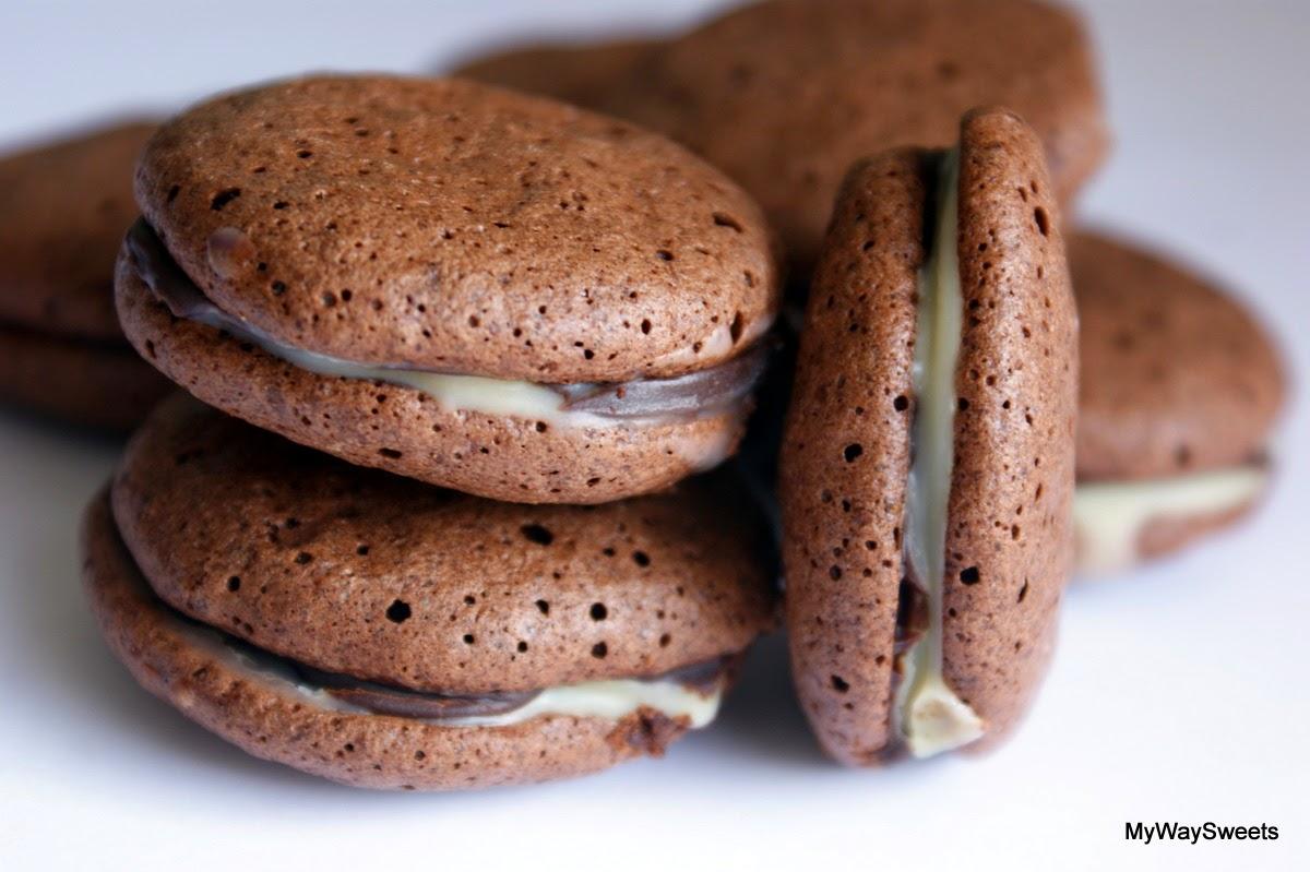 Ciasteczka czekoladowo-kawowe