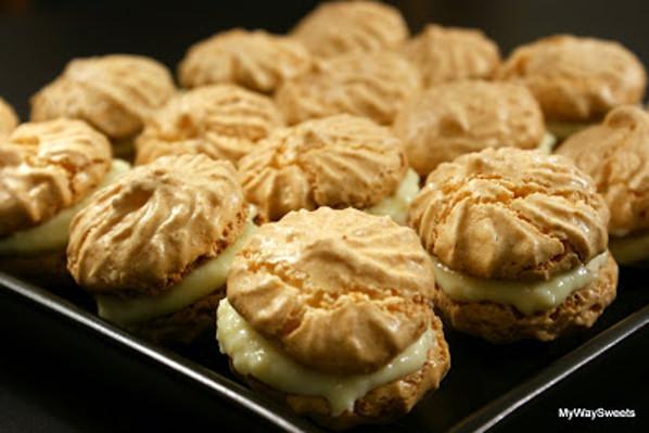Kokosowe ciasteczka bezowe