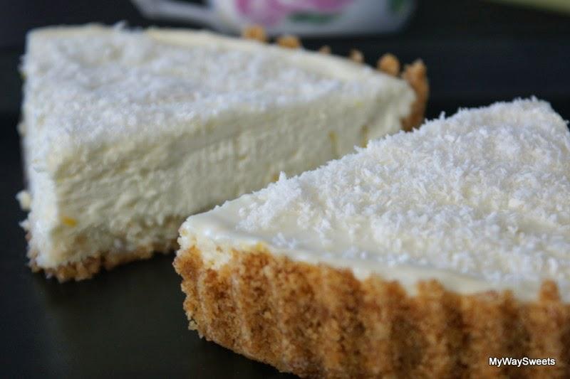 Tarta cytrynowo-kokosowa
