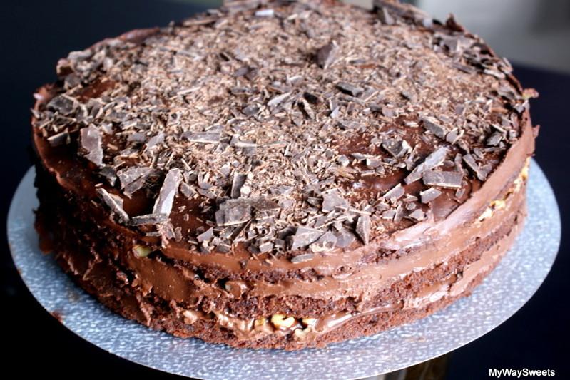 Czekoladowe ciasto marchewkowe