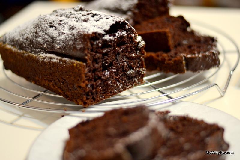 czekoladowe ciasto bananowe