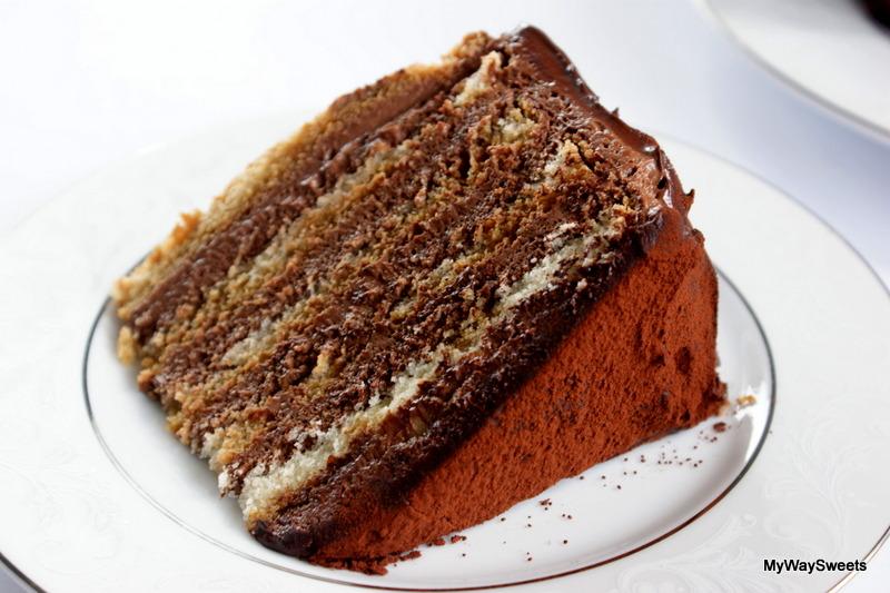 czekoladowy tort tiramisu
