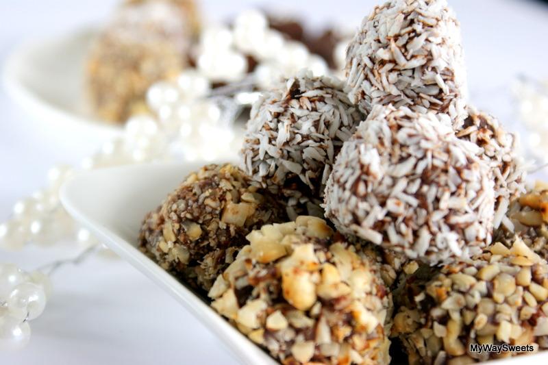 Trufle czekoladowo-orzechowe z nutką likieru Baileys