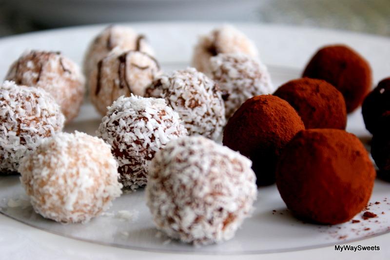 Trufle kokosowo-czekoladowe