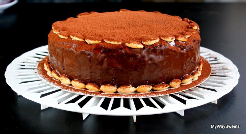 Tort kokosowo-czekoladowy – bez glutenu i laktozy