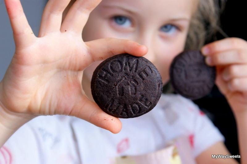 smaczne ciasteczka kakaowe