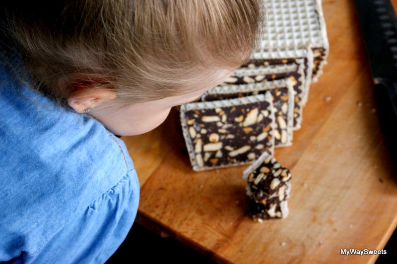 pyszny blok czekoladowy