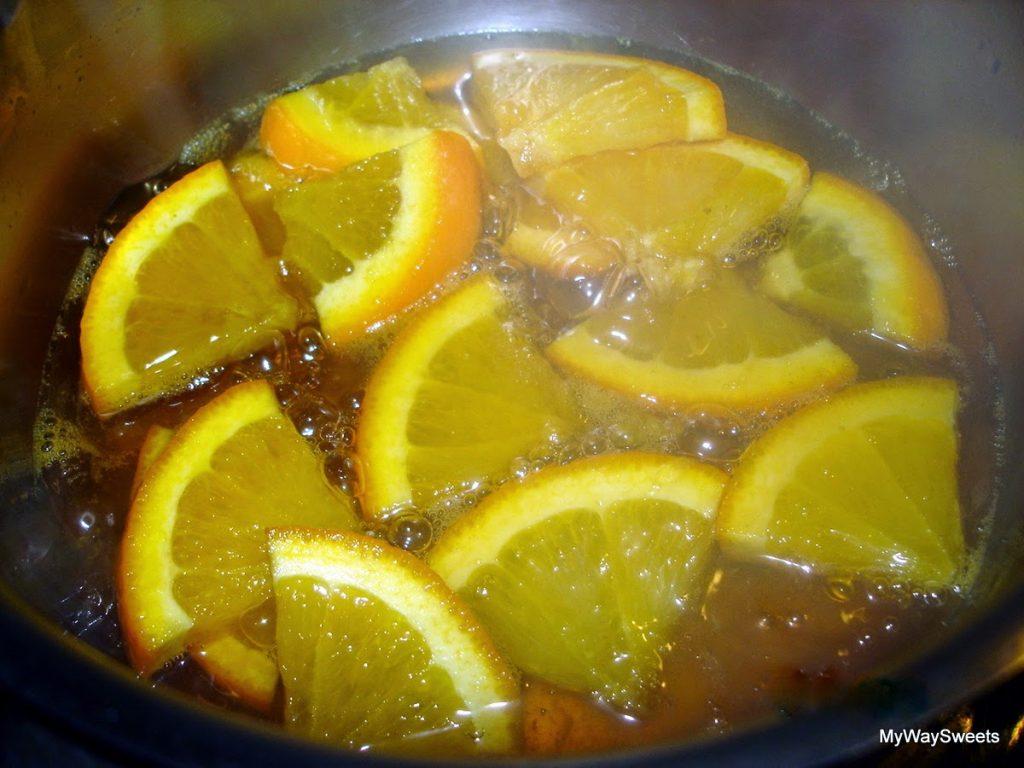 sernik pomarańczowy